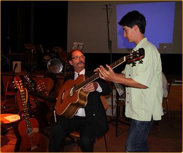 Gitarrenunterricht mit Alexander Schriefer