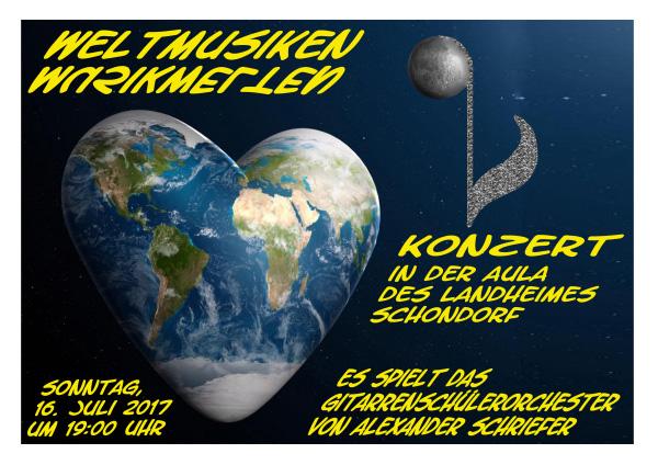 Schülerorchester Alexander Schriefer Weltmusiken Musikwelten