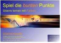 Gitarrenschule Alexander Schriefer - Gitarrentabelle Spiel die bunten Punkte